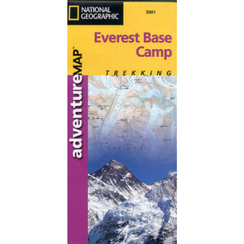 National Geographic Everest Base Camp Trek Map