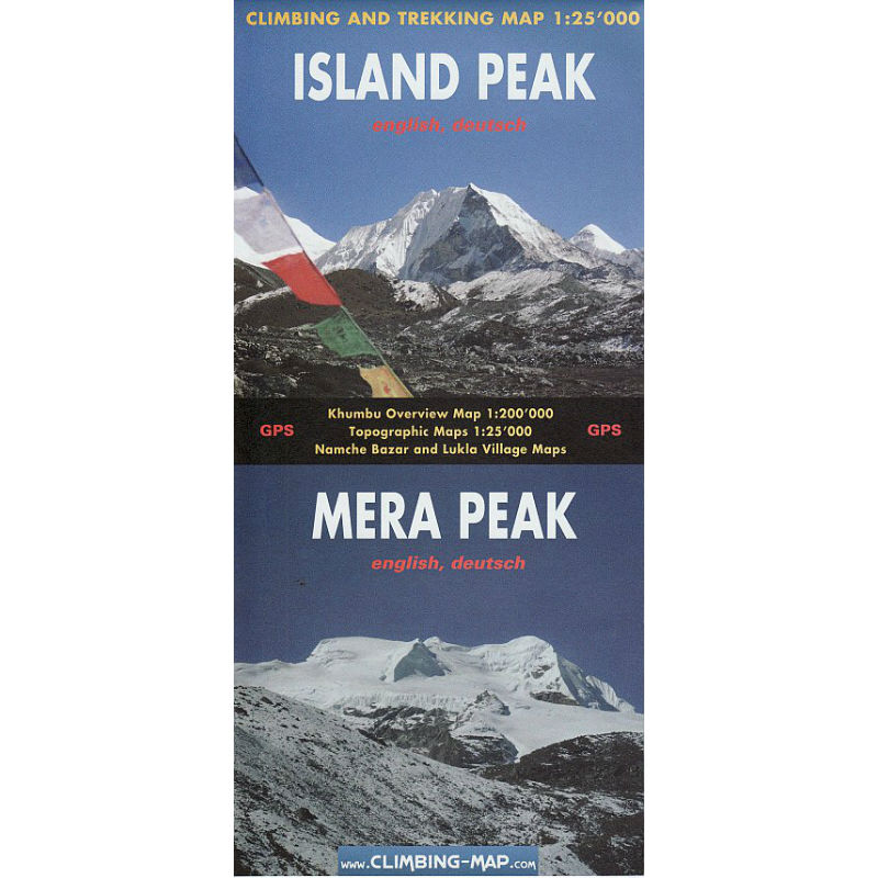 Mera and Island Peak Map