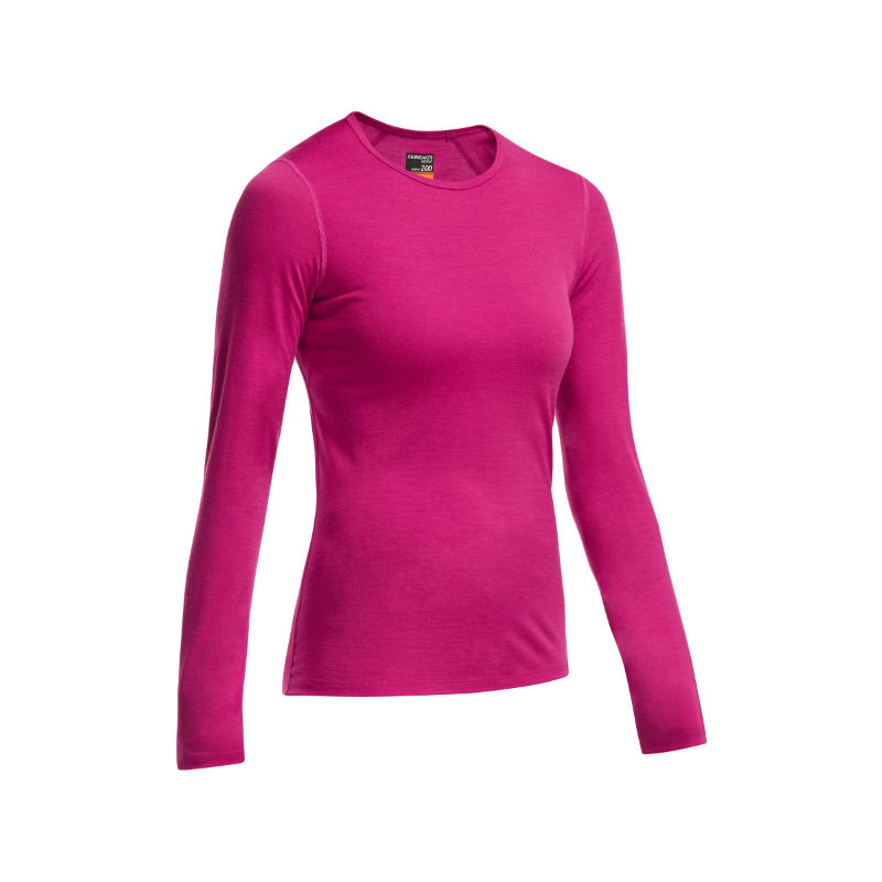 Icebreaker Women's Tech Top Long Sleeve Crewe