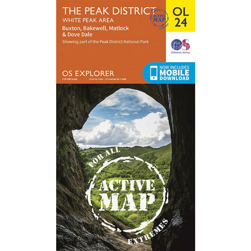 The White Peak OS Map